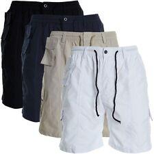 Markenlose bequem sitzende Herren-Cargo-Shorts