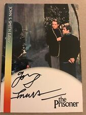THE PRISONER: AUTOGRAPH CARD: JOHN S. SMITH - EDITOR JS1