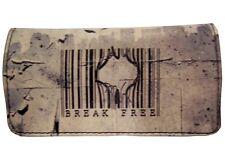 Tobacco Case Pouch Synthetic Leather Wallet Bag Rolling Smoke Break Free Prison