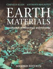 Earth Materials 2nd Ed: Introduction to Mineralogy , Petrology 9781316608852