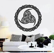 Vinyl Wall Decal Celtic Pattern Circle Irish Ireland Irishman Stickers (ig4617)