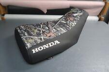 ATV Honda Foreman S/E 1995-04 Logo Camo ATV Seat Cover #nw1282mik1281