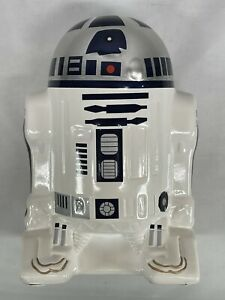 """Star Wars R2-D2 Ceramic Coin Bank 8"""" tall (2015)  Imported by F.A.B."""