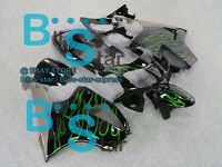 Green Flames Fairing Kit Fit HONDA VTR1000 RVT RC51 SP1 SP2 2000-2006 24 D1