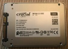 "Crucial CT250MX500SSD1Z 250GB 3D NAND SATA 2.5"" Internal SSD No Reserve!"