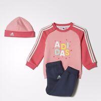 Adidas Rosa/Azul Marino Bebé / Chandal para Correr Traje Regalo Conjunto Tallas