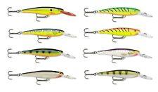 Rapala Minnow Rap MR09 Balsa Wood Minnow 3 1/2 inch Bass & Walleye Fishing Lure