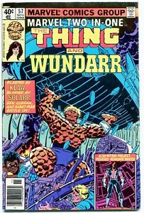 Marvel Two-In-One, The Thing and Wundarr #57, $0.40, Marvel, Nov. 1979, FN
