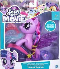 My Little Pony The Movie - Glitter Style Seapony - Twilight Sparkle - Brand New