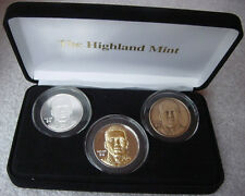RANDY MOSS ROY Highland Mint 39mm (3) Coin Proof Set #237 Only 250 Sets Produced