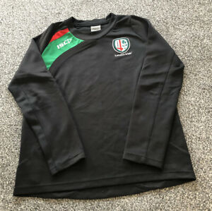 ISC London Irish Rugby Union Training Sweatshirt Top - Adults Men's Size Small S