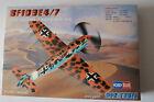 maquette messerschmitt bf 109 E4/7 hobbyboss 1/72