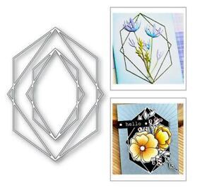 Prismatic Edge Metal Cutting Dies Craft Decoration Greeting Card Scrapbooking