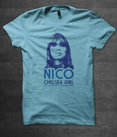 Nico Chelsea Girl t shirt music velvet underground andy warhol lou reed