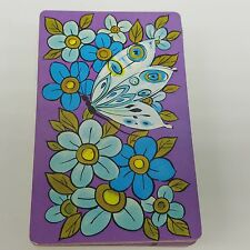 Butterfly Playing Cards Purple Turquoise Blue Trump crafts