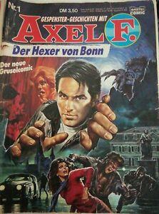 Gespenster-Geschichten mit Axel F. - Der Hexer von Bonn Nr. 1 (1988) Gruselcomic