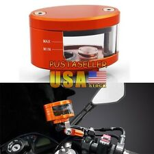 7 Color Motorcycle Universal  Brake Fluid Oil Reservoir Cup For Daytona ZX14R