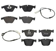 Front & Rear Brembo Low-Met Brake Pads Sensors Kit For BMW E60 E63 E64 535i 650i