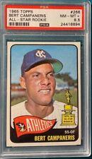 1965 Topps #266 Bert Campaneris All Star Rookie PSA 8.5