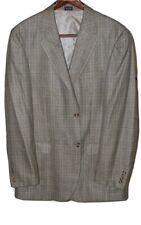 Meeting Street Men Sport Coat Blazer 42 Long Silk Wool Sportcoat Plaid
