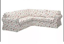 Ikea Ektorp Sectional Slipcover Only 4-seat Cover Floral Design 803.046.77 NEW