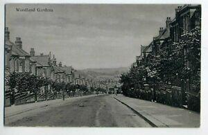Postcard. Woodland Gardens, ? Muswell Hill ?N10