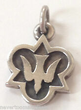 JAMES AVERY RETIRED ~ DESCENDING DOVE CHARM ~ HOLY SPIRIT ~ SILVER w/ BOX ~ RARE