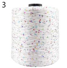700M 100g/Ball Summer Ice Silk Mercerized Yarn Special Sequin yarn DIY Hand Wove
