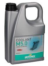 Motorex Coolant M5.0 Kühlflüssigkeit Kühlmittel Kühlerfrostschutz 4 Liter