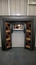 cast iron tiled insert ..OVER 80 TO CHOOSE FROM IN OUR EBAY SHOP..stock item 001