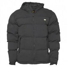 Caterpillar Men's Puffa Hooded Winter Jacket Black Size 2XL DH009 NN 03