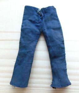 """1971 ACTION JACKSON 8"""" mego military figure -- NAVY -- Blue Sailor PANTS es"""