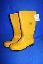 Gr.41 S5 Sicherheitsstiefel Gummistiefel Regen Bau Berufs Stiefel mit Stahlkappe