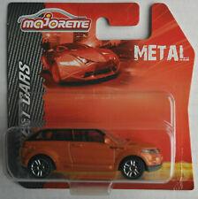 Majorette Range Rover Evoque orangemetallic Neu/OVP SUV Auto Car orange Allrad