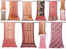 10 PC Wholesale Lot India Vintage Cotton Saree Women Wrap Cotton Saree Fabric