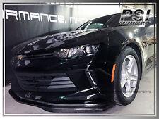 Chevrolet Chevy 2016+ Camaro I4 V6 Gen6 T7 Carbon Fiber Front Bumper Lip Spoiler