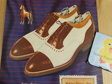 Roblee Pintos Magazine Ad Print 1945 WWII Wingtips Shoes for Men