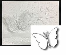 Memory Box Dies DARLA BUTTERFLY solid metal cutting die 98264 Animals,insects