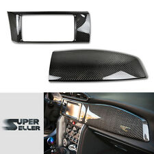 CARBON FINTERIOR RADIO DASH PANEL COVER For Subaru BRZ For Toyota GT86 For Scion