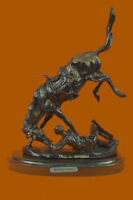 Handcrafted HotCast Wicked Pony by Frederick Remington Bronze Masterpiece Statue