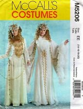 McCall's M5206 SNOW QUEEN Costume Sewing Pattern Size 14-16-18-20 Uncut