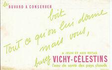 Buvard Vintage  Eau de Vichy  Célestins