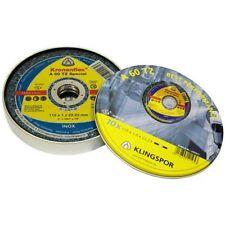 KLINGSPOR 115MM A60TZ SPECIAL CUTTING DISC PER/10