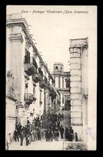 NOTO palazzo villadorata (lato orientale)