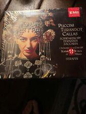 Puccini Turandot Callas La Scala Serafin CD 1992 EMI Classics 2 Discs New!