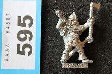 Games Workshop Citadel F2 Fighter Viking Hornest Rohan Warhammer Metal Figure