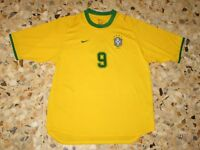 Maillot ancien trikot maglia shirt jersey RONALDO BRESIL BRAZIL BRASIL 2000-2002