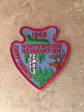 BSA CHIEF OKEMOS COUNCIL NORTHWOODS RESERVATION PATCH 1965