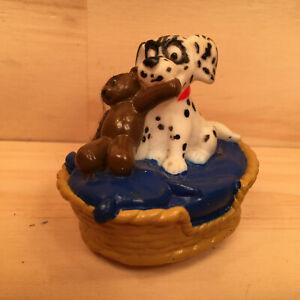 "101 DALMATIANS ""Blue"" Beautiful Miniature Puppy Dog Figurine Toy Model (Disney)"
