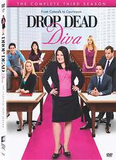 Drop Dead Diva .. The Complete Season 3 .. Three .. Staffel .. 3 DVD . NEU . OVP